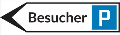 Bild von Wegweiser Parkplatz