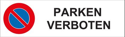 Bild von Parkverbotsschild Parken verboten