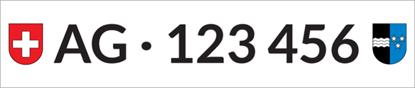 Bild von Nummernschild Individuell AG