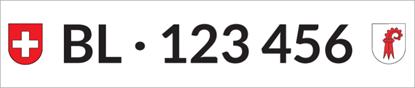 Bild von Nummernschild Individuell BL