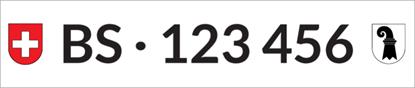 Bild von Nummernschild Individuell BS