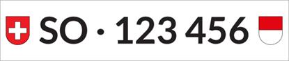 Bild von Nummernschild Individuell SO